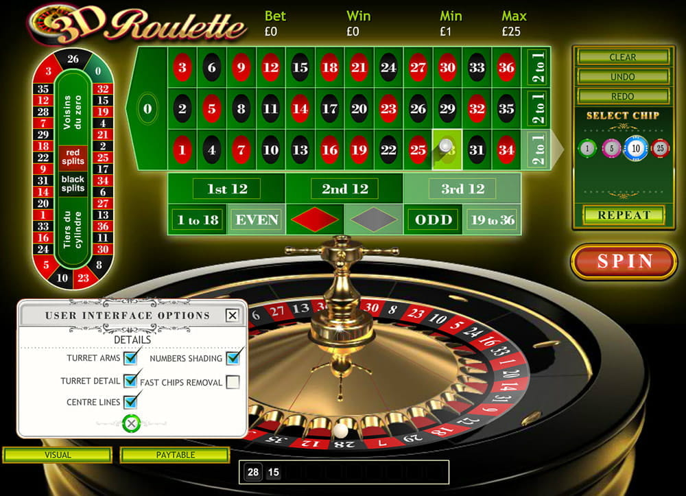 Roulette Demo
