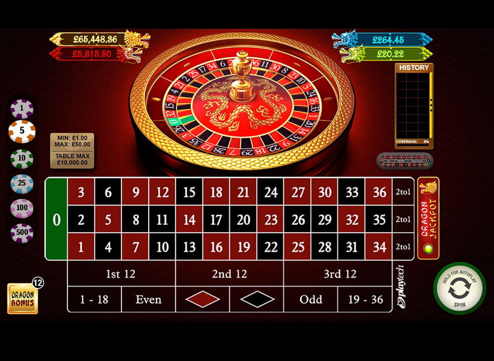 The first bonus, and the one with the largest winning potential is the Dragon Jackpot.This progressive jackpot comprises of four individual jackpots, the values of which are displayed at the top of the game.Yellow Dragon Jackpot: The yellow is the highest value, and whilst writing this, the jackpot was on a .