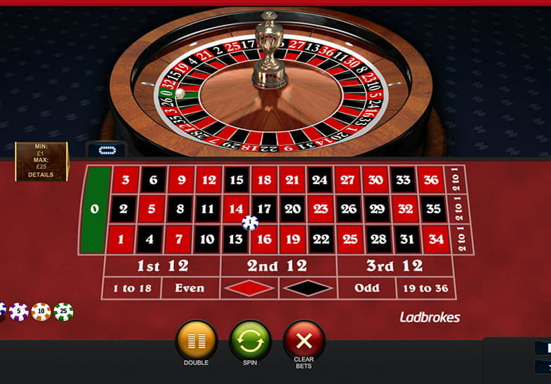 casino de online european roulette play