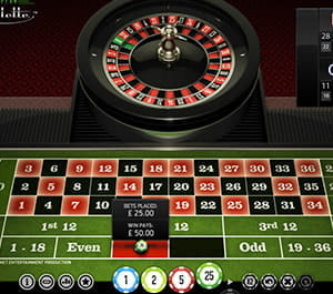 Roulette outside bet maximum