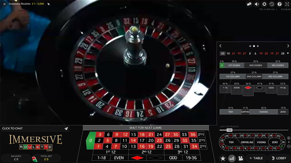 Immersive Roulette Review Egr S Casino Game Of The Year