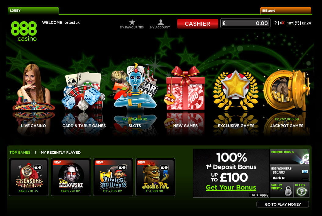Online casino games that accept paypal