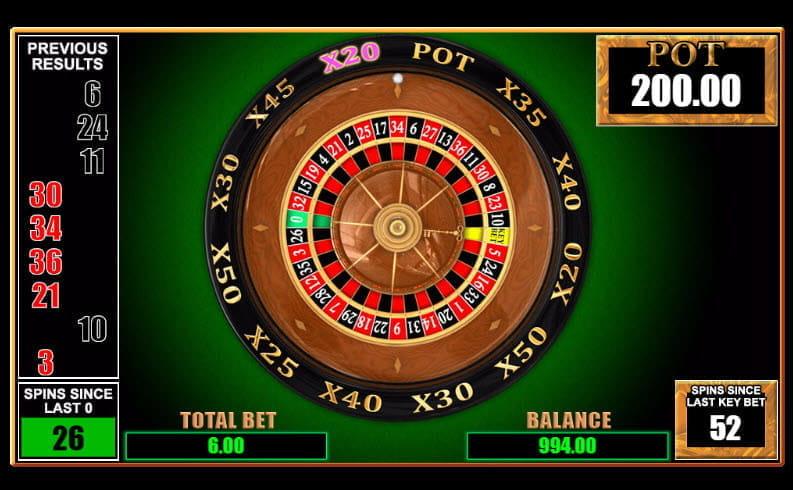 Free key bet roulette