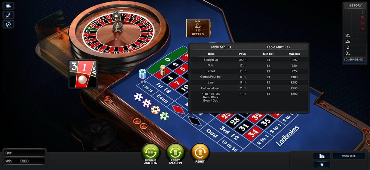 Free european roulette no limit at roulette com