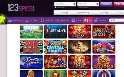 123 Slots Online Casino