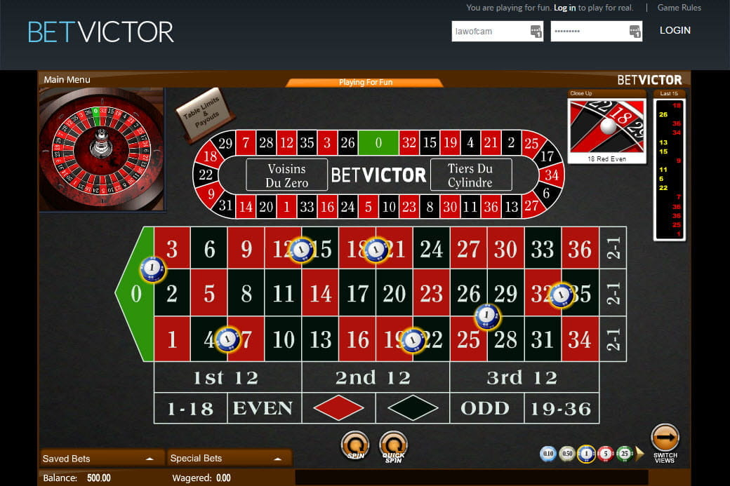 Le tier roulette the d coin slots